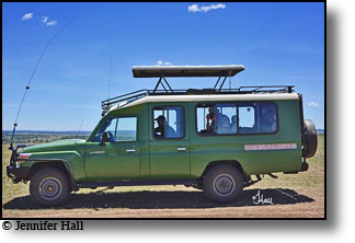 Kenya safari vehicle, Land Rover