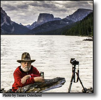 Daryl L. Hunter, Green River Lakes, Square Top Mountains, Photography